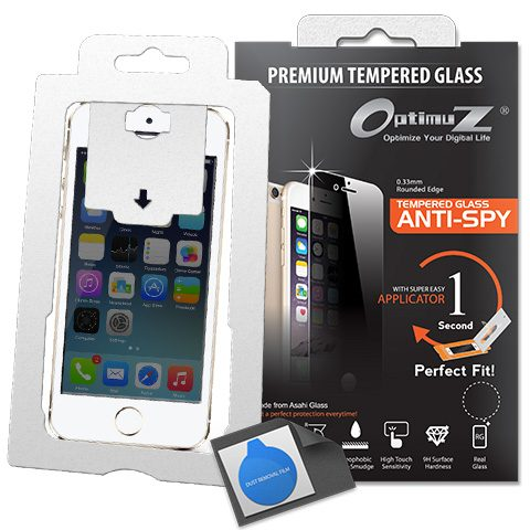 Tempered Glass 0.33 Anti SPY with Applicator